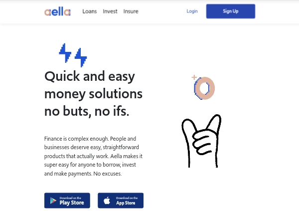 Aella Credit loans banner