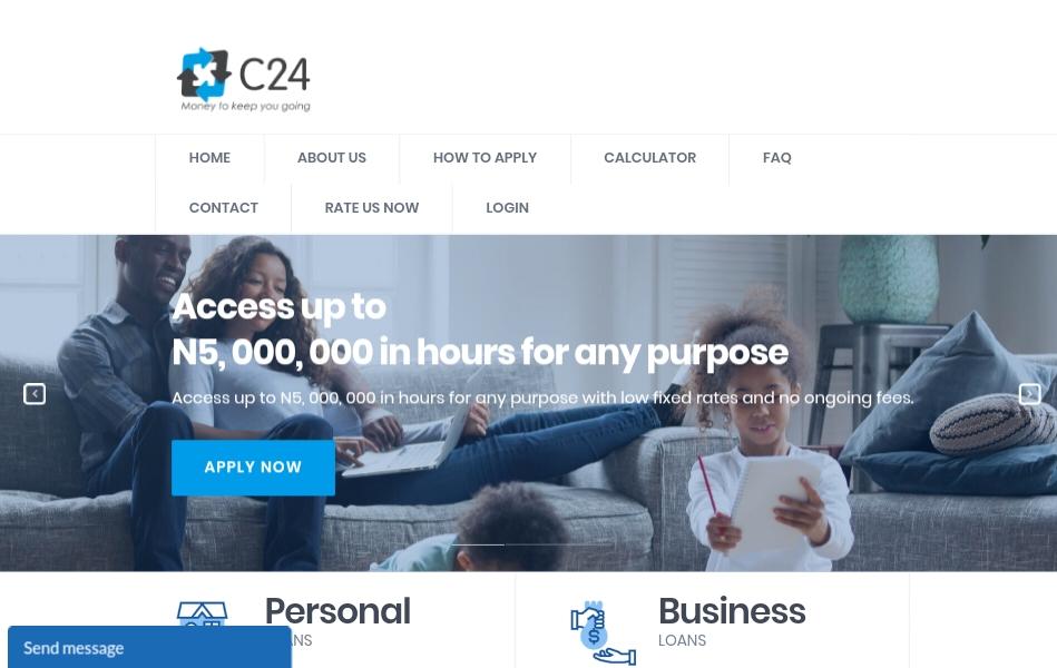 C24 limited loans banner